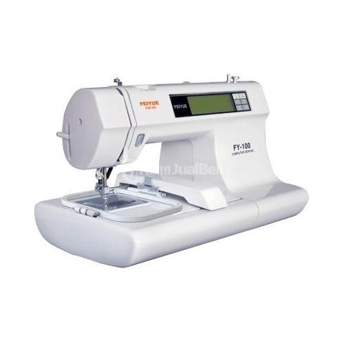 Yamata fy3000 multi-function domestic embroidery sewing machine, fashionable shape and novel appearance