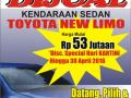 DIJUAL SEDAN TOYOTA NEW LIMO