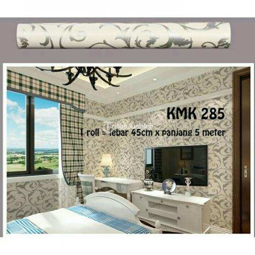 Wallpaper sticker dinding roll murah minimalis solo for Wallpaper home murah