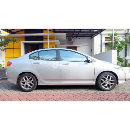 Honda City Warna Silver Type E AT Tahun 2009 Plat AD Solo