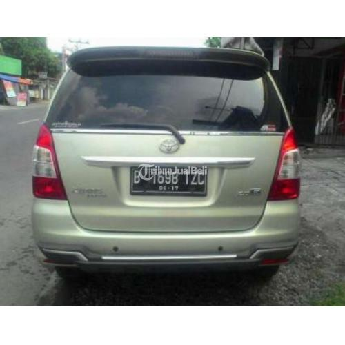 mobil toyota kijang innova tahun 2012 manual second solo jawa tengah dijual tribun jualbeli. Black Bedroom Furniture Sets. Home Design Ideas