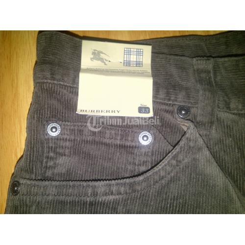 Jual Celana Panjang Pria Merk Burberry Medan