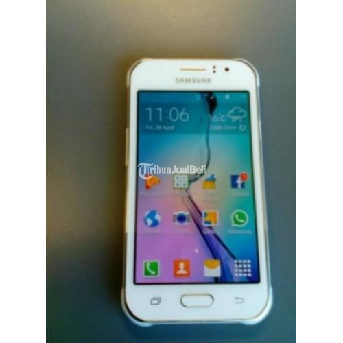 Samsung Galaxy J1 Ace 4g Lte Putih Kondisi Lengkap No Minus Di Solo Tribunjualbeli Com