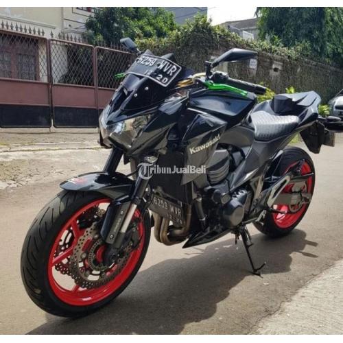 Kawasaki Z800 Hitam Orisinil Tahun 2015 Mulus Gahar Siap Touring - Jakarta Selatan