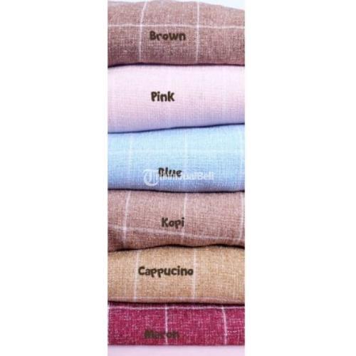 Celana Panjang Wanita Motif Kotak Kotako Pants Baru Ukuran Lengkap Sampai L Banyak Warna - Solo