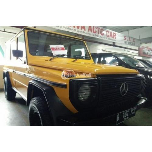 Mobil Jeep Mercedes Benz Mercy Ge280 Mt Tahun 1989 Second Harga Murah Di Jakarta Tribunjualbeli Com