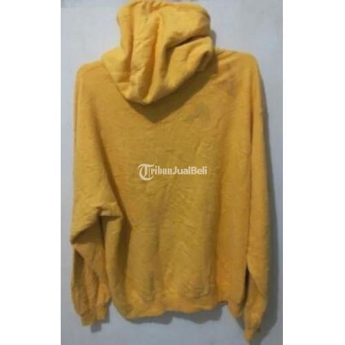 Jaket Hoodie Champion Bekas Warna Kuning Size M Jaminan Original Di Malang Tribunjualbeli Com