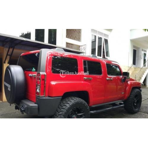 Mobil Hummer H3 3 7 Suv Offroad 4wd Red 2010 Matic Jok Kulit Di Bogor Tribunjualbeli Com