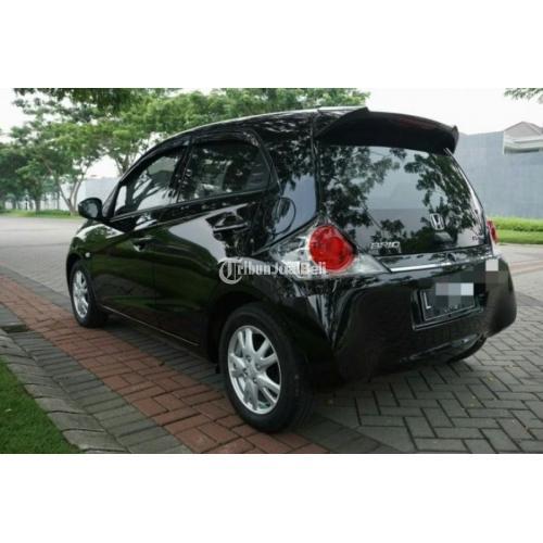 Honda Brio CBU Tahun 2012 Manual Hitam Metalik Body Terawat Asli Plat L - Surabaya