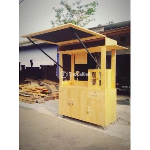 Booth Makanan Rj Kayu Jati Belanda Desain Elegan Harga Murah Di Yogyakarta Tribunjualbeli Com