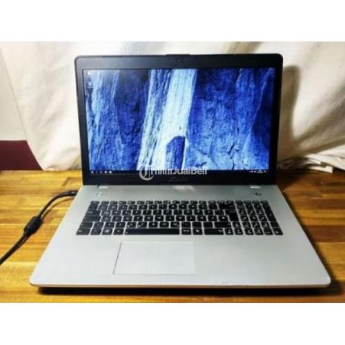 Laptop Gaming ASUS N76VZ Core i7 RAM 16GB Second Harga Murah - Bandung
