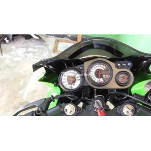 Kawasaki Ninja RR 150cc Warna  Hijau  Kondisi Cat  Mulus