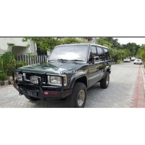 Chevrolet Trooper Long 4x4 1992 Turbo Diesel Hijau Second Nego Murah - Surabaya