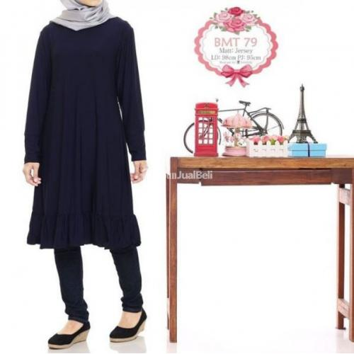 Baju Tunik Wanita Muslimah Terbaru Tahun 2016 Harga Murah - Bandung