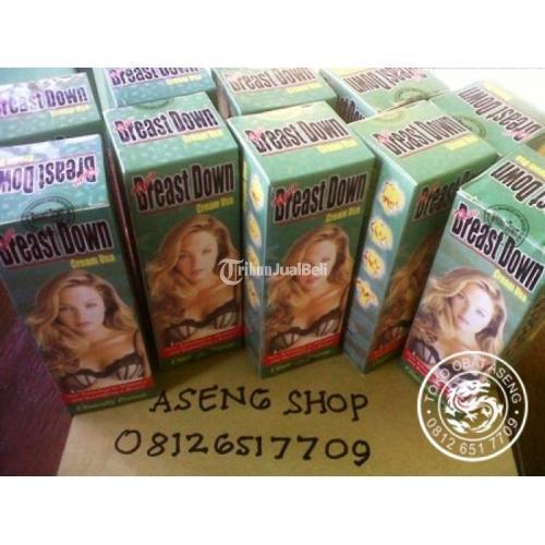Cream Pengecil Payudara Breast Down Aman dan Alami Terjamin Harga Murah - Medan