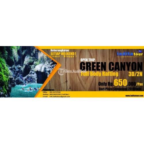 Open Trip Green Canyon Pangandaran Paket Kelompok Di Jakarta Selatan Tribunjualbeli Com
