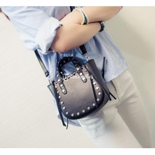 Tas Import Korea Style Selempang Terbaru Wanita Stud Mini ...