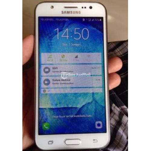 Handphone Bekas Murah Samsung J5 2016 White Mulus Like New Fullset - Malang