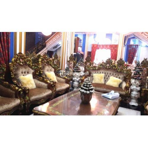 Rumah Mewah Baru 9 Kamar Tidur Isi Perabotan Harga Nego - Pekanbaru