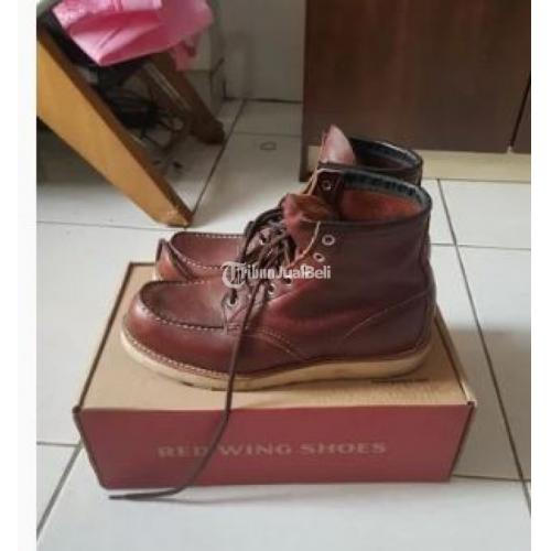 Sepatu Boots Pria Cowok Redwing Size 41 Bekas Second Harga Murah - Jakarta