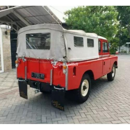 Land Rover Landy Seri III 4X4 Tahun 1981 Bekas Second Harga Murah - Surabaya