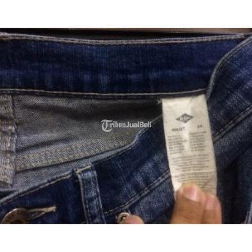 Celana Jeans Lee Cooper Size 32 Model Skinny Seken Original No Minus Murah Like New Murah - Jakarta