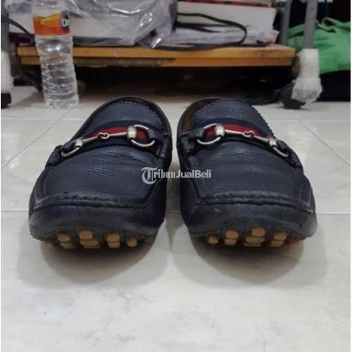 Sepatu Gucci Horsebit Leather Driver Original Made in Italy -Jakarta