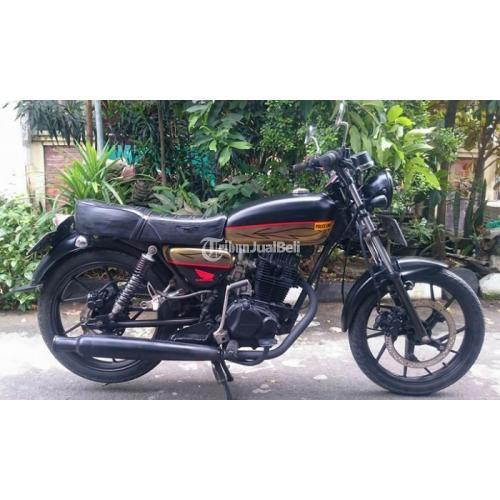 Motor Klasik Honda Gl 100 Tahun 1982 Modif Upgrade Normal Mulus Lengkap Harga Murah Di Surabaya Tribunjualbeli Com