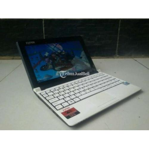 Netbook Zyrex M1115 Bekas Ram 2GB Normal No Minus Harga Murah - Jakarta Selatan