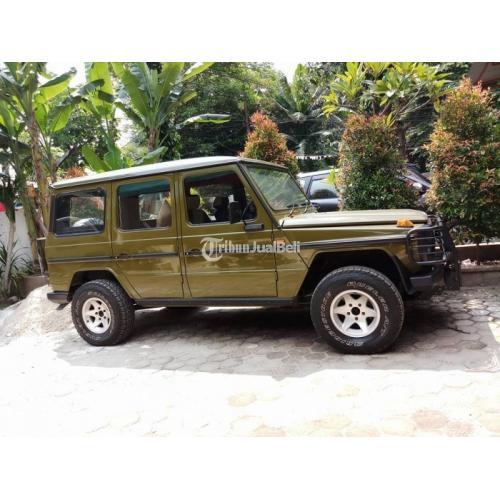 Mobil Jeep Mercedesdibenz Mercy 280ge Bekas Second Harga Murah Di Jakarta Tribunjualbeli Com