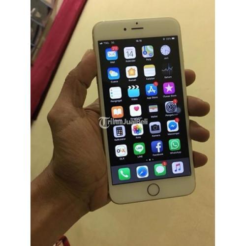 Hp Iphone 6 Plus Gold 64gb Sa A Bekas Harga Murah Normal Lengkap Di Makassar Tribunjualbeli Com