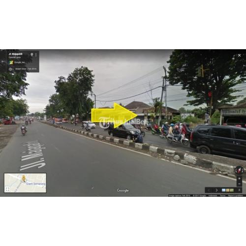 Tanah Kotak Pinggir Jalan Majapahit Cocok Untuk Gudang dan Industri Murah Strategis - Semarang