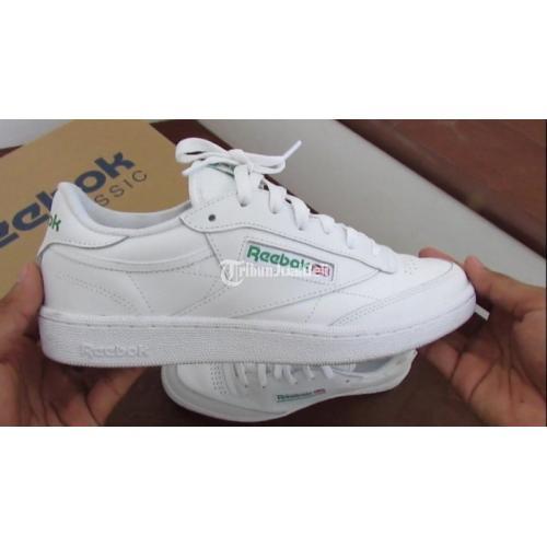 Sepatu Reebok Club C85 White Original Seken Like New Lengkap Murah - Yogyakarta