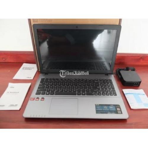 Laptop Asus X550z Amd Wuad Core A10di7400 Black Second Murah Di Surabaya Tribunjualbeli Com