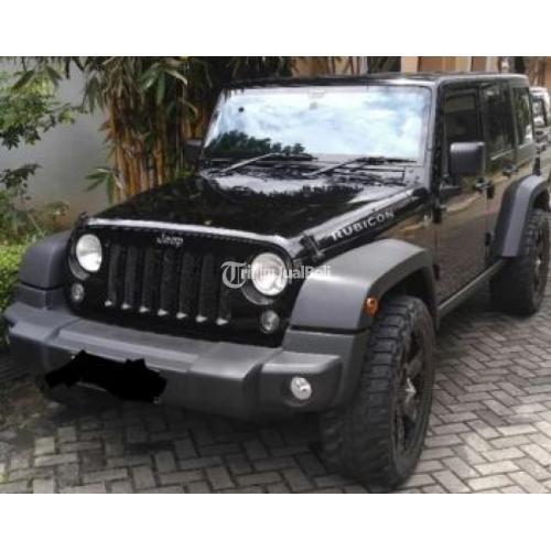 Mobil Jeep Wrangler Rubicon 2014 Black Second Full Option Harga Miring Di Jakarta Tribunjualbeli Com
