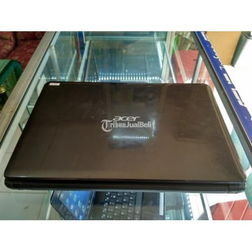 Laptop Acer Amd E1-1200 Tipe E1-421 Hitam Silver Harga Murah - Yogyakarta