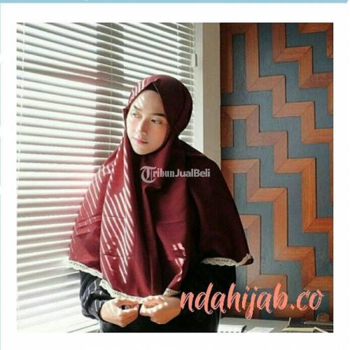 Mini Khimar Alena Bahan Bertekstur Cocok Buat Kemana Saja - Surabaya