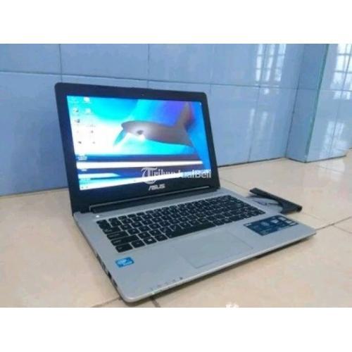 Laptop Asus k46ca Black Slim Core i3 Layar 14 Inci Second Harga Murah - Jakarta Utara