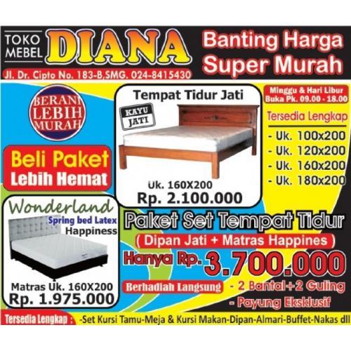 Dipan Jati Dan Matrax Berkualitas Di Toko Mebel Diana Banting Harga Murah Di Semarang Tribunjualbeli Com