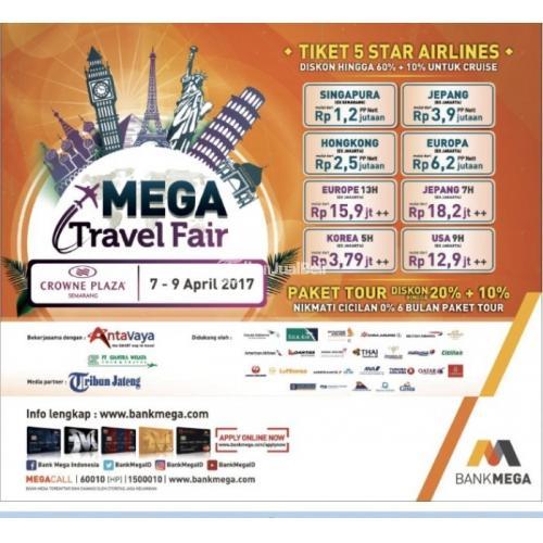 Ke Jepang Dengan Mega Travel Fair Harga Tiket Murah Di Semarang Tribunjualbeli Com