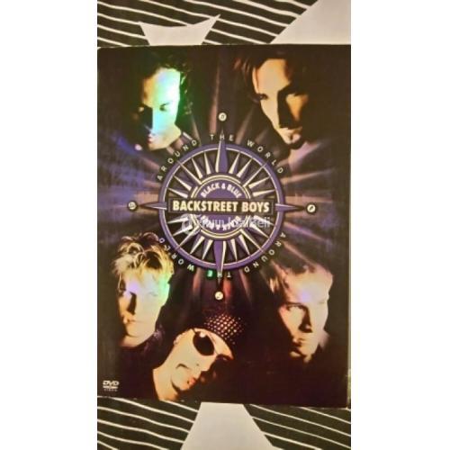 Kaset DVD Original Dokumentasi BACKSTREET BOYS Concert Journey Black & Blue Bekas Normal Murah - Jakarta Barat