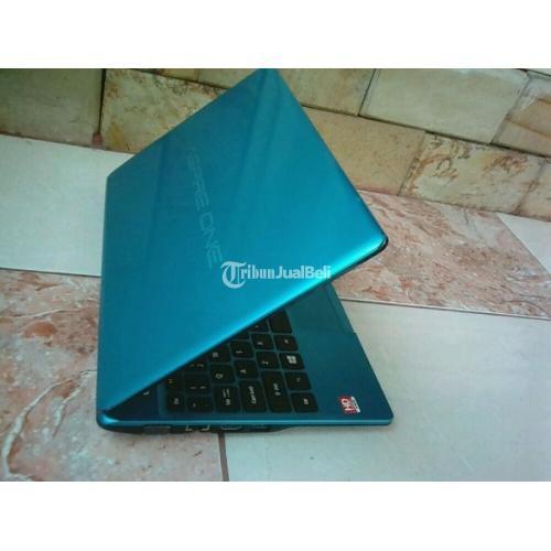 Laptop Acer Aspire One 725 Tosca Second Harga Murah 320Gb ram 2GB - Palembang