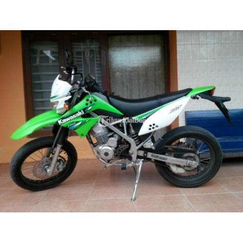 Motor Kawasaki Klx 150s Hijau Putih Second Surat Lengkap Harga Murah Di Semarang Tribunjualbeli Com