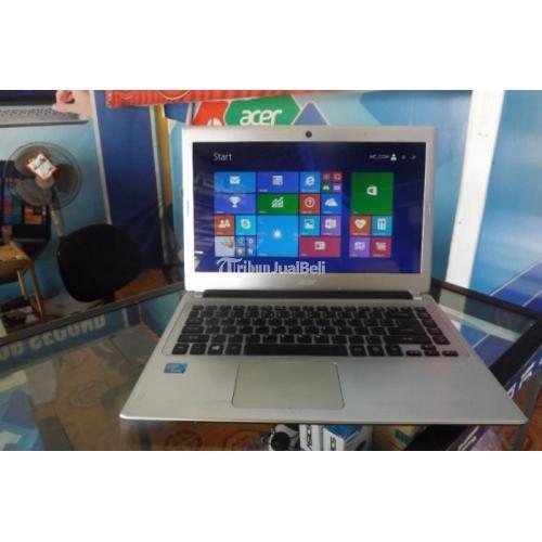 Laptop Acer v5-431 Silver Second 320GB Ram 2GB Harga Murah - Banjarbaru
