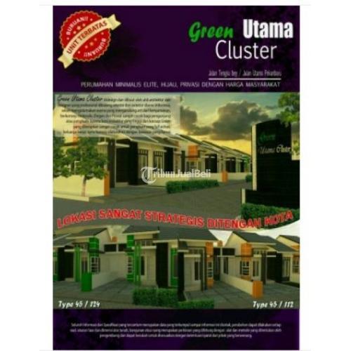 Rumah Minimalis Tipe 45/112 2KT 1KM Harga Murah Lokasi Strategis - Pekanbaru