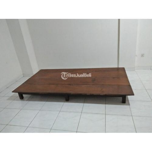 Vintage Furniture Kuno Meja Klasik Kayu Jati Bekas Second Harga Murah Di Jakarta Barat Tribunjualbeli Com