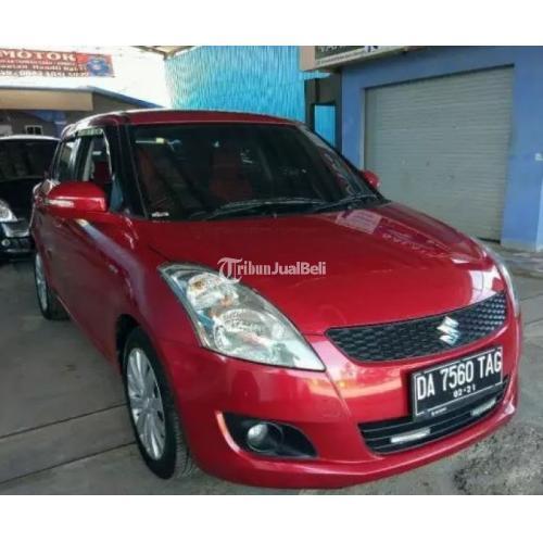 City Car All Swift Gx 2014 Automatic Second Merah Full Original Di Banjarmasin Tribunjualbeli Com