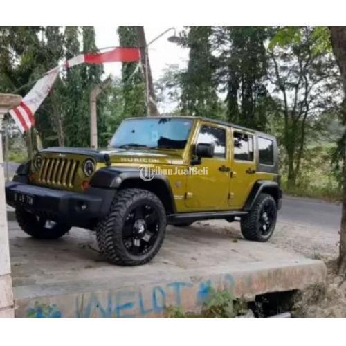 Jeep Wrangler Rubicon Matic Tahun 2008 Bekas Second Harga Murah Di Bojonegoro Tribunjualbeli Com