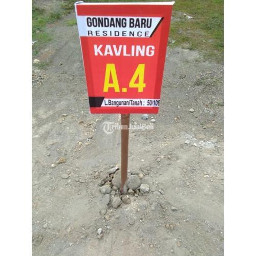 Kavling Siap Bangun di Klaten di Barat Pabrik Gula Klaten - Klaten