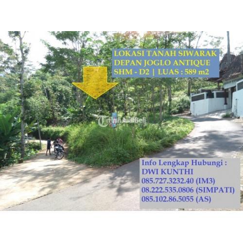 Tanah Kavling Siap Bangun di Lokasi Sejuk Siwarak Strategis Bebas Banjir Murah - Semarang